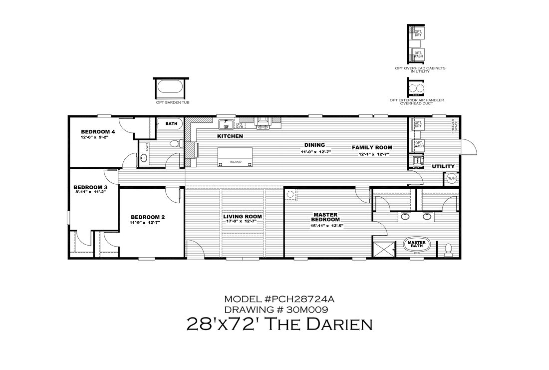 The THE DARIEN Floor Plan