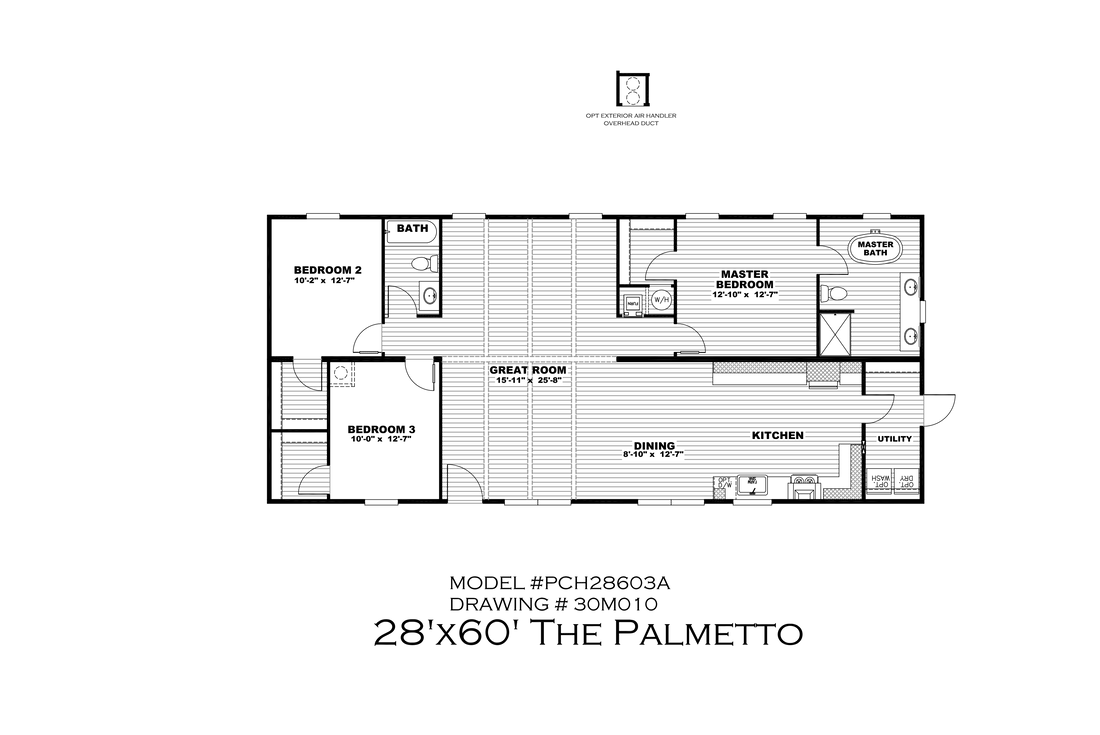 The THE PALMETTO Floor Plan