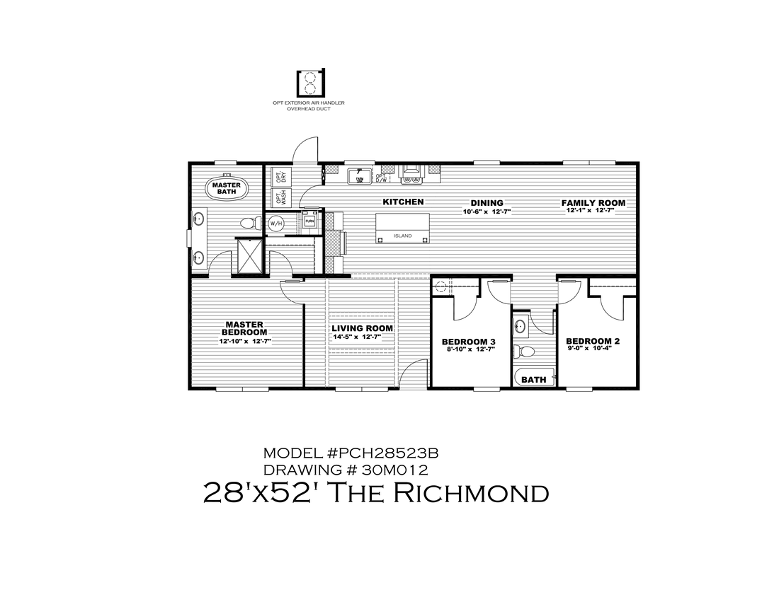 The THE RICHMOND Floor Plan