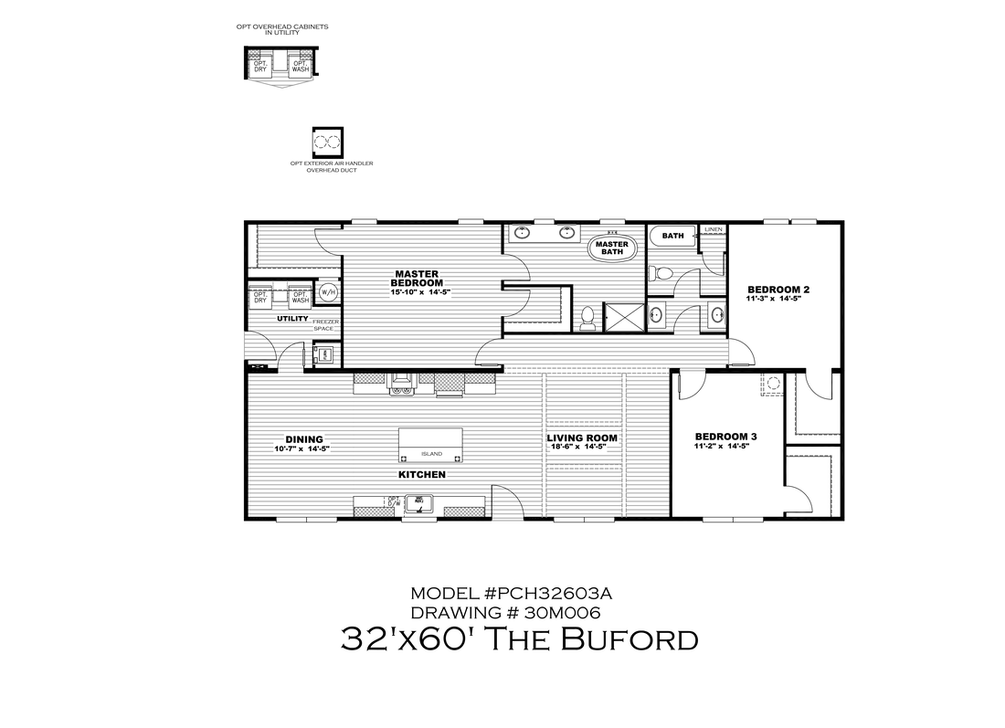 The THE BUFORD Floor Plan