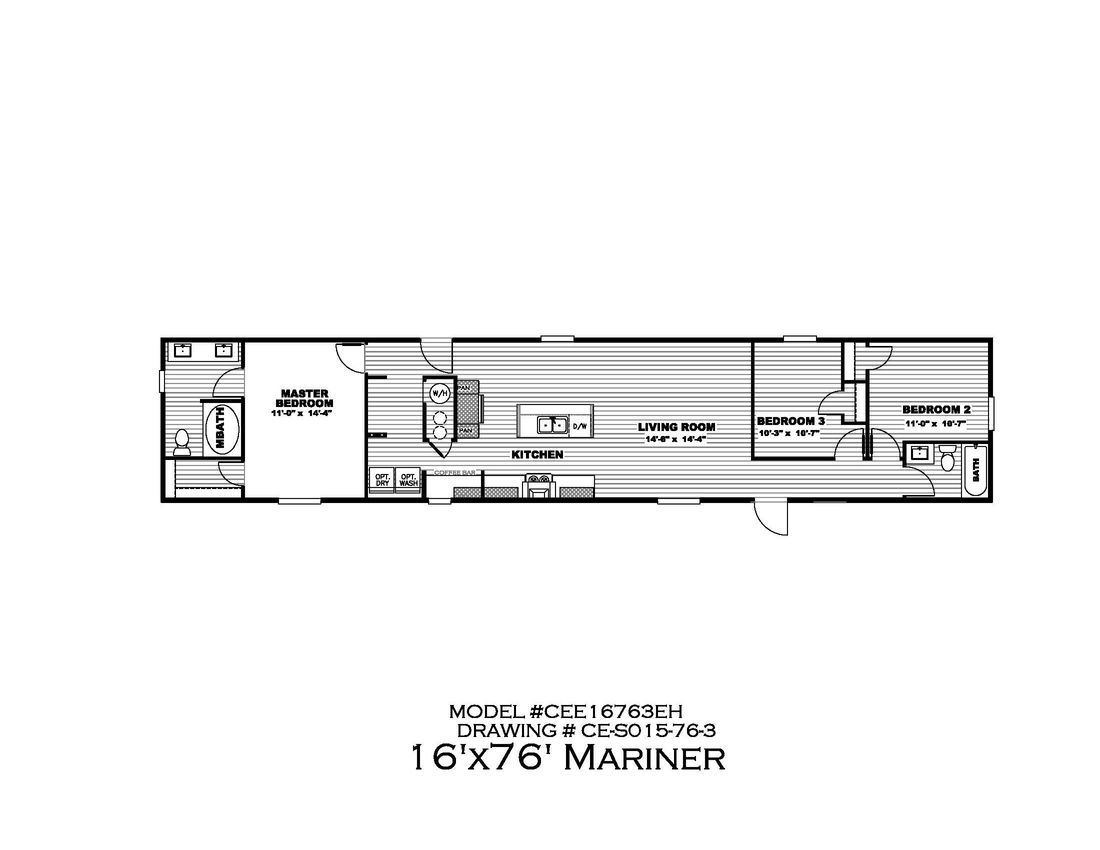 The MARINER Floor Plan